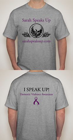 Sarah Speaks Up Shirt